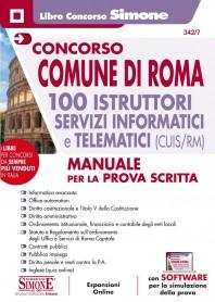 Concorso Comune di Roma 100 Istruttori Servizi Informatici e Telematici (CUIS/RM)