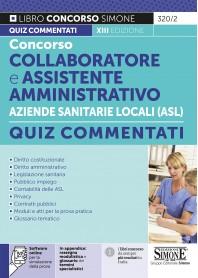 Concorso Collaboratore e Assistente Amministrativo Aziende Sanitarie Locali (ASL) Quiz