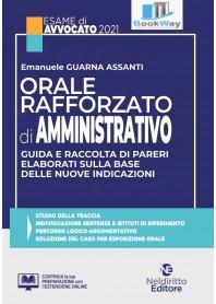 orale rafforzato di amministrativo. esame avvocato 2021