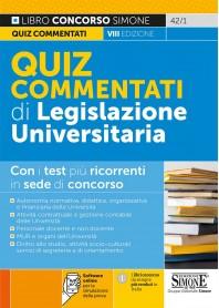Legislazione Universitaria Quiz Commentati