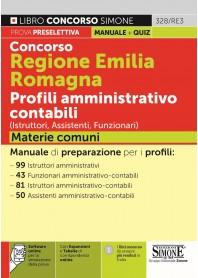 Concorso Emilia Romagna Romagna Profili Amministrativo Contabili