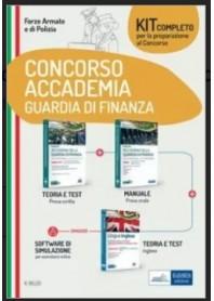 Concorso Accademia della Guardia di Finanza Kit di Nissolino