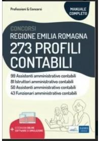 Concorsi Regione Emilia Romagna 273 Profili Contabili