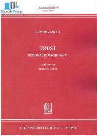 trust. dizionario ragionato