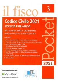 pocket codice civile 2021 - societa' e bilancio