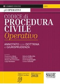Codice di Procedura Civile Operativo di Abete, Ciafardini, De Crescenzo, Giordano, Pellecchia, Peluso, Scognamiglio, Taraschi
