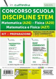 Concorso Scuola Disciplina STEM Matematica, Fisica, Matematica e Fisica Kit