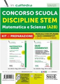 Concorso Scuola Discipline STEAM Matematica e Scienze Kit
