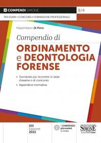 Compendio di Ordinamento e Deontologia Forense di Di Pirro