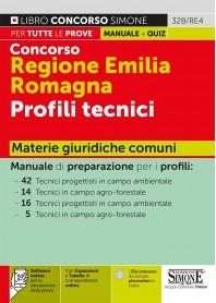 Concorso Emilia Romagna Romagna Profili Tecnici