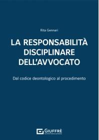 Responsabilità Disciplinare dell'Avvocato di Gennari