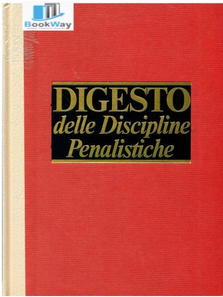 digesto delle discipline penalistiche