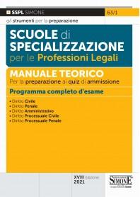 Scuole di Specializzazione per le Professioni Legali Manuale