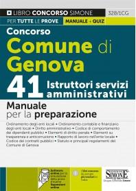 Concorso Comune di Genova 41 Istruttori Servizi Amministrativi Manuale