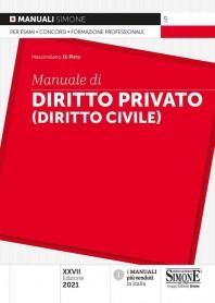 Manuale di Diritto Privato (Diritto Civile) di Di Pirro