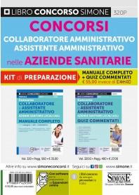 Collaboratore e Assistente Amministrativo nelle Aziende Sanitarie Locali Kit
