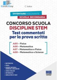 concorso scuola discipline stem a20 fisica - a26 matematica - a27 matematica e fisica - a28 matematica e scienze