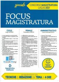 focus magistratura luglio 2021