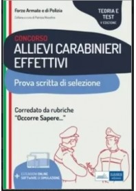 Concorso Allievi Carabinieri Effettivi di Nissolino