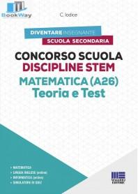 concorso scuola discipline stem matematica (a26) teoria e test
