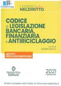 codice di legislazione bancaria, finanziaria e antiriciclaggio