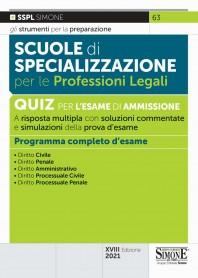 Scuole di Specializzazione per le Professioni Legali Quiz