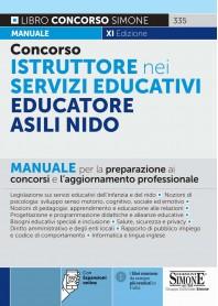 Concorso Istruttore nei Servizi Educativi Educatore Asili Nido Manuale