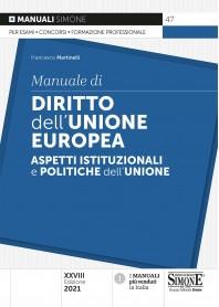 Manuale di Diritto dell'Unione Europea di Martinelli
