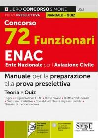 Concorso 72 Funzionari ENAC Ente Nazionale per l'Aviazione Civile Manuale