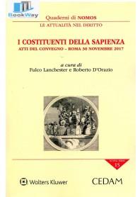costituenti della sapienza (i) - atti del convegno - roma 30 novembre 2017