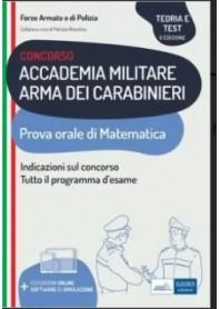 Concorso Accademia Militare Arma dei Carabinieri Prova Orale di Nissolino