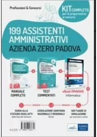 Concorso 199 Assistenti Amministrativi Azienda Zero di Padova Kit