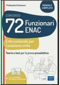 Concorso 72 Funzionari ENAC