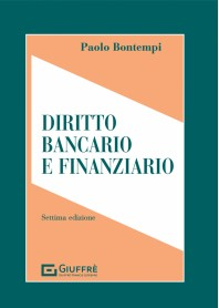 Diritto Bancario e Finanziario di Bontempi