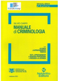 manuale di criminologia 2021