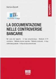 documentazione nelle controversie bancarie