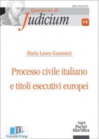 processo civile italiano e titoli esecutivi europei