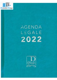 agenda legale 2022 - azzurra