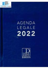 agenda legale 2022 - blu
