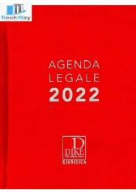 agenda legale 2022 - rossa