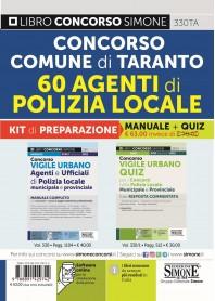 Concorso 60 Agenti di Polizia Locale Comune di Taranto Kit
