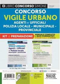 Concorso Vigile Urbano Kit