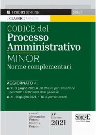 Codice del Processo Amministrativo Minor di Pagano