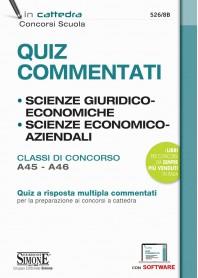 Quiz Commentati di Scienze Giuridiche ed Economiche Scienze Economico Aziendali