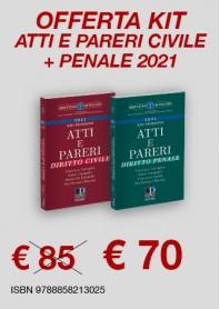 Offerte Atti e Pareri Diritto Civile e Penale di Caringella, Campanile, Marrone, De Pamphilis, Cardile