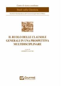 Ruolo delle Clausole Generali in una Prospettiva Multidisciplinare di Sacchi
