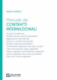 Manuale dei Contratti Internazionali di Bianchi