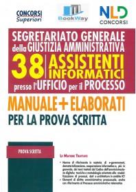 segretariato generale della giustizia amministrativa 38 assistenti informatici per l'ufficio per il processo