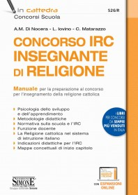 Concorso IRC Insegnante di Religione Manuale di Di Nocera, Iovino, Matarazzo