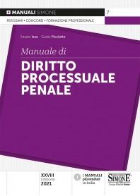Manuale di Diritto Processuale Penale di Izzo, Picciotto